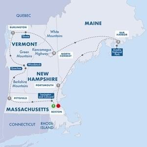 Escorted Tour USA : Autumn Colours