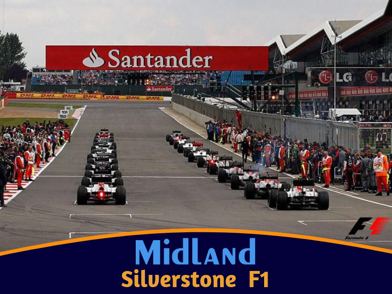 Grand Prix - Silverstone (4 Day Coach and Ferry Package)
